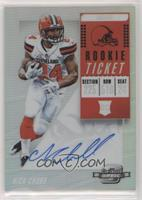 Rookie Ticket RPS Autographs - Nick Chubb