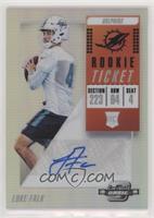 Rookie Ticket Autographs - Luke Falk