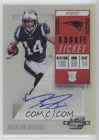 Rookie Ticket Autographs - Braxton Berrios
