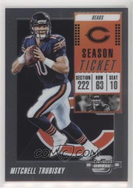 2018 Panini Contenders Optic - [Base] #72 - Mitchell Trubisky