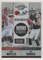 Baker Mayfield, Sam Darnold #61/175