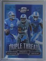 Kenny Golladay, Marvin Jones Jr., Matthew Stafford /25