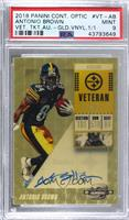 Antonio Brown [PSA 9 MINT] #/1