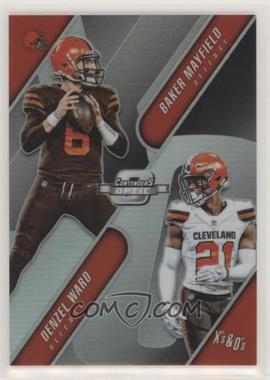 2018 Panini Contenders Optic - Xs and Os #XO-CLE - Baker Mayfield, Denzel Ward /175