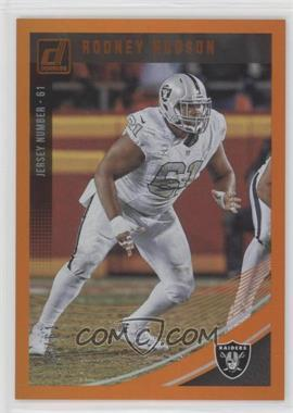 cheap for discount f1b6f 9bb91 2018 Panini Donruss - [Base] - Jersey Number #222 - Rodney ...