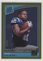 Rated Rookies - Nyheim Hines /50