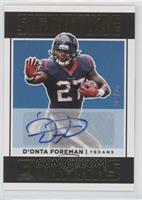 D'Onta Foreman [EX to NM] #/25