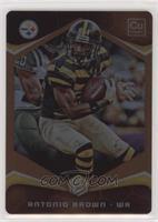 Antonio Brown (Striped Jersey) #/25