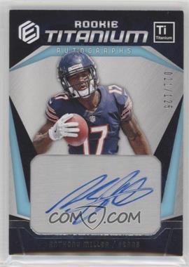 2018 Panini Elements - Rookie Titanium Autographs - Silver #RTA-22 - Anthony Miller /125