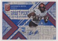 Draft Picks - Devonte Boyd /30