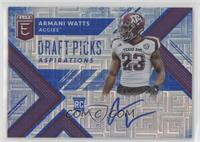 Draft Picks - Armani Watts /30