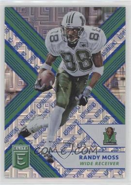 2018 Panini Elite Draft Picks - [Base] - Aspirations Blue #81 - Randy Moss /25