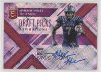 Draft Picks - Nyheim Hines #/25