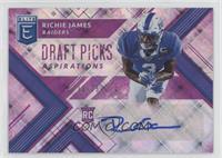 Draft Picks - Richie James /25
