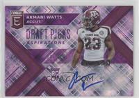 Draft Picks - Armani Watts #/99