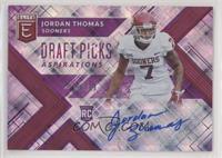 Draft Picks - Jordan Thomas /99