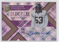 Draft Picks - Duke Ejiofor /99