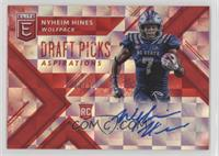 Draft Picks - Nyheim Hines #/20