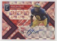 Draft Picks - Mike McCray #/75