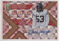 Draft Picks - Duke Ejiofor /75