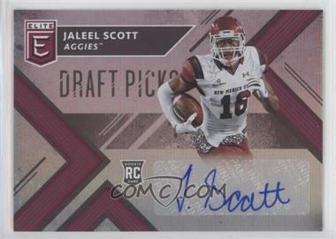 2018 Panini Elite Draft Picks - [Base] - Autographs [Autographed] #275 - Draft Picks - Jaleel Scott