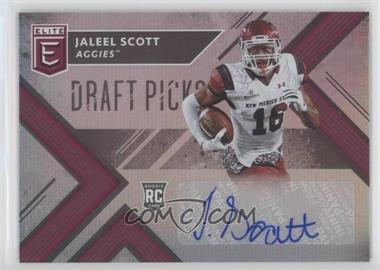 2018 Panini Elite Draft Picks - [Base] - Autographs [Autographed] #275 - Draft Picks - Jaleel Scott