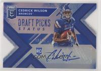 Draft Picks - Cedrick Wilson Jr. #/25