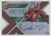 Draft Picks - Javon Wims #/5