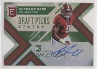 Draft Picks - Da'Shawn Hand #/5