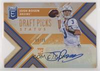 Draft Picks - Josh Rosen /10