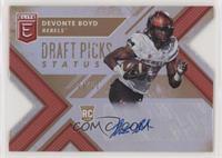 Draft Picks - Devonte Boyd [Noted] #/10