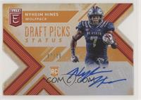 Draft Picks - Nyheim Hines #/10