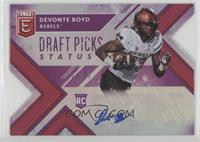 Draft Picks - Devonte Boyd /99
