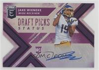 Draft Picks - Jake Wieneke #/49