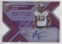 Draft Picks - Armani Watts /99
