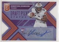 Draft Picks - Kerryon Johnson #/49
