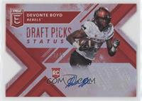 Draft Picks - Devonte Boyd /49