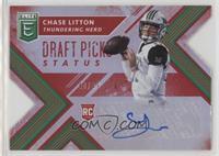 Draft Picks - Chase Litton /49