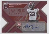 Draft Picks - Armani Watts /49