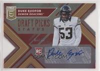 Draft Picks - Duke Ejiofor /49