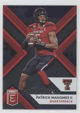 2018 Panini Elite Draft Picks - [Base] #79 - Patrick Mahomes II