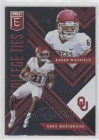 Baker Mayfield, Dede Westbrook