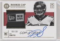 Rookie Cap Patch Autograph - Ito Smith #/10