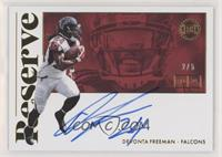 Devonta Freeman #/5