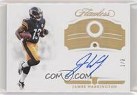 Rookie Gems Signatures - James Washington #/3