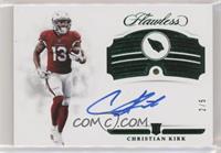 Rookie Gems Signatures - Christian Kirk #/5