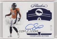 Rookie Gems Signatures - Courtland Sutton #/15