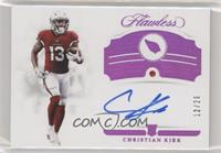 Rookie Gems Signatures - Christian Kirk #/20