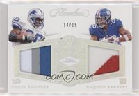 Barry Sanders, Saquon Barkley /15