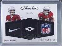 Christian Kirk, Josh Rosen #/1